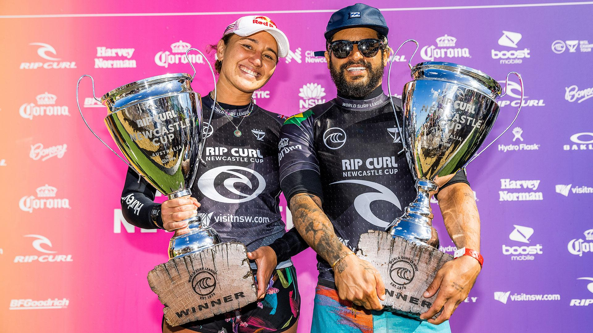 rip curl cup newcastle winners